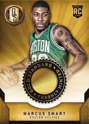 14-15 Panini Gold Standard Basketball Freshly Minted Marcus Smart