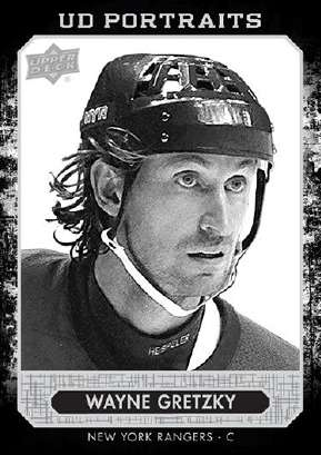 14-15 Upper Deck Series 2 Portraits Wayne Gretzky