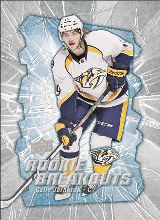 14-15 Upper Deck Series 2 Rookie Breakouts Calle Jarnkrok
