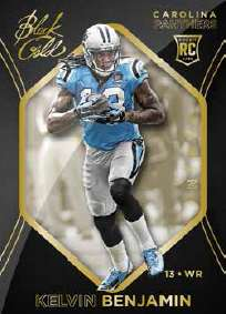 2014 Panini Black Gold Football Base Card Kelvin Benjamin