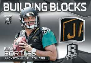 2014 Panini Spectra Football Building Blocks Patch Blake Bortles