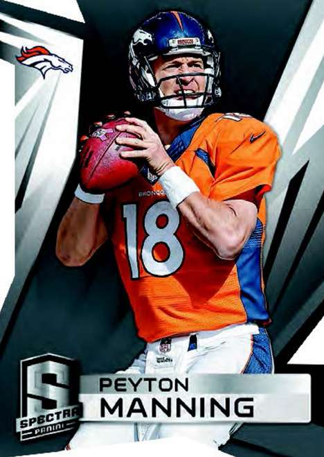 2014 Panini Spectra Football Base Card Peyton Manning