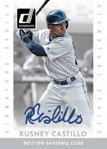 2015 Donruss Baseball Signature Series Rusney Castillo