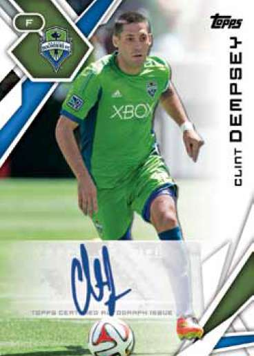 2015 Topps MLS Base Autograph Clint Dempsey